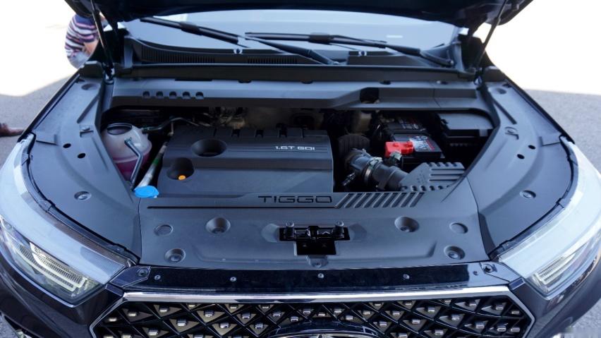 奇瑞瑞虎8 PLUS基于奇瑞T1X平台打造,于10月正式发布