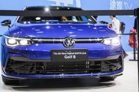 全新第八代大众高尔夫静态体验,内饰更具档次感