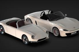 玻璃钢车身,轻量化跑车即将复活,伯克利跑车2021年重返市场