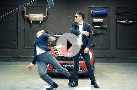 两个男人一台戏,既有逼格又有趣的汽车视频来了!