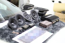 乌鲁木齐慧声汽车音响改装隔音升级,大众速腾无损升级汽车音响