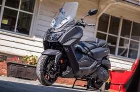 中排量通勤大踏板摩托,三阳Maxsym400,竞争压力不小