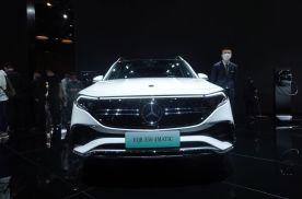 2021上海车展丨定位紧凑SUV  奔驰EQB全球首发