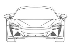 迈凯伦全新混动超跑专利图曝光 有望2021年正式上市
