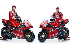 杜卡迪2020 Desmosideci GP20赛车揭开面纱