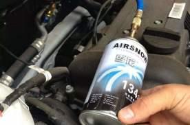 自己怎么给汽车加冷媒?