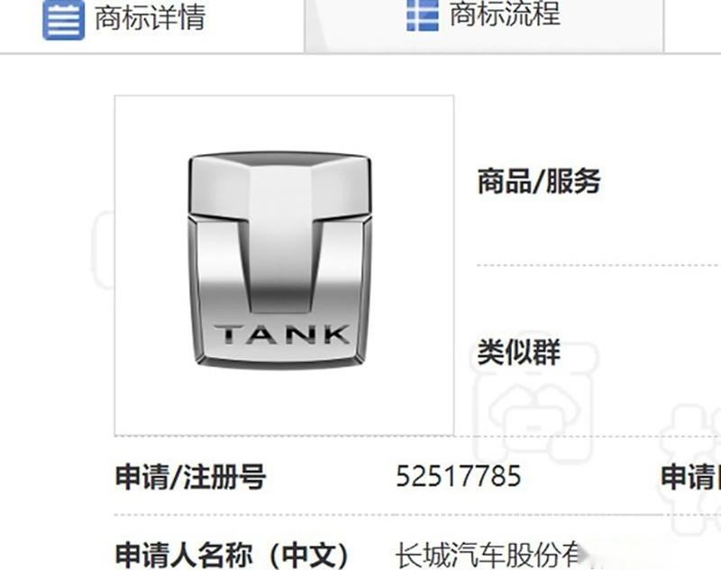 长城或将坦克品牌独立 品牌LOGO曝光