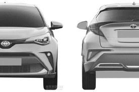 外形微调,增混动系统,新款丰田C-HR年内推出