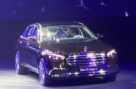 国产奔驰新E级上市,这款中产收割机,能否碾压5系和A6L?