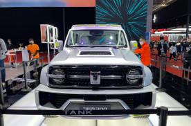 #2021上海车展##坦克300赛博版车型亮相#