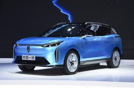 一汽奔腾E01高度还原概念车,外形炫酷且配置全面