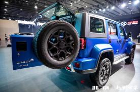 BJ40 P系列柴油版首秀广州车展 两大亮点释放越野潜能