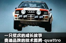 一只壁虎的成长故事,奥迪品牌的技术图腾-quattro