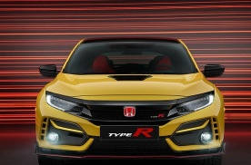 本田思域Type-R限量版车型曝光 轻量化设计运动感更强