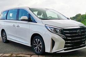 新款广汽传祺GM8实车图曝光 将于北京车展上市