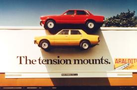 奥迪、宝马互怼!奔驰嘲讽女性!11个最经典的汽车广告牌!