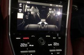 新款17款19款20款保时捷帕纳梅拉改装后排空调效果