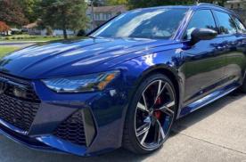 新款奥迪RS6海外实拍 国内预售价143万元