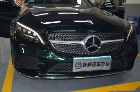 广州捷越20款奔驰C180改装液晶仪表