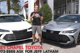 Toyota Avalon TRD VS Toyota  A