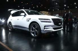 2021上海车展丨提供三种动力 捷尼赛思GV80开启预售