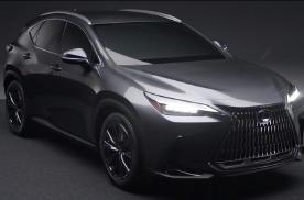 2022款紧凑型SUV雷克萨斯NX最新照片曝光 豪华感更强