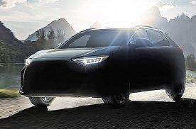 斯巴鲁首部纯电动车车名Solterra,配全时四驱明年上市