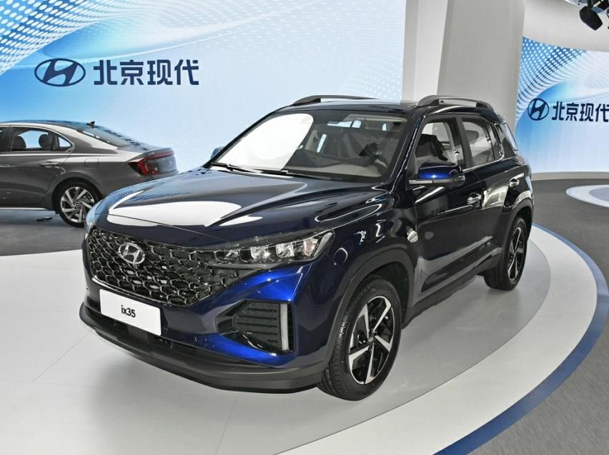 全新现代ix35正式亮相外观造型更加精致-爱卡汽车爱咖号