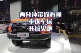 重庆车展:两分钟带你看懂长城火炮