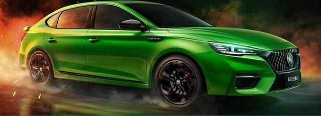 比运动车型还运动的名爵6正式上市,售价:9.38万-13.98万