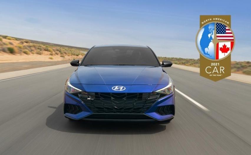 「韩系动向258」现代伊兰特荣获北美年度汽车