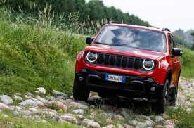 Jeep Renegade 4xe,油电加持并不影响越野
