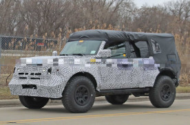 福特Bronco将于今年3月亮相