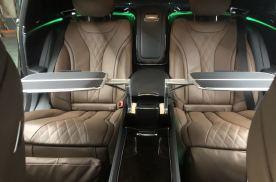 19款迈巴赫S450五座改四座行政座椅四座带餐桌无线充