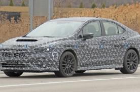 全新斯巴鲁SRX STI欲2022年上市,请珍惜纯燃油最后一代车型!