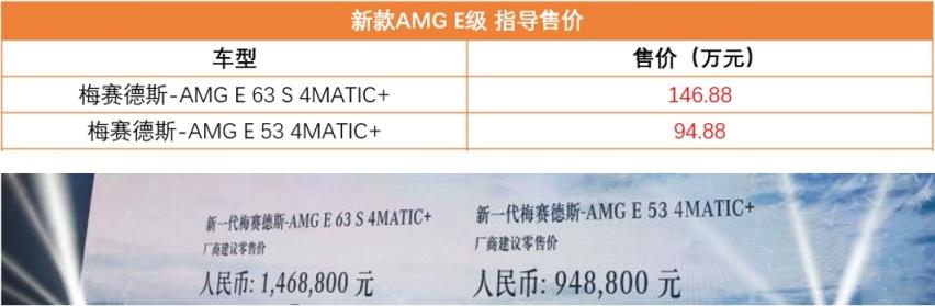 更加暴躁的奔驰E级,新款AMG E系列上市,最快3.4秒破百