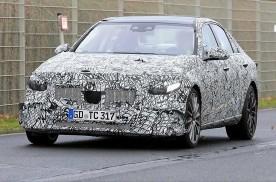 2021款奔驰 AMG C43谍照曝光,或明年年中上市