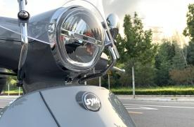 入门125cc排量踏板摩托,三阳飞度4详解,水冷动力配ABS