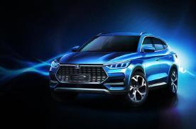 全新宋PLUS? 比亚迪发布全新SUV官图 外观更运动
