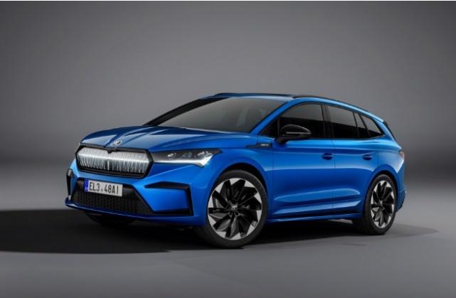斯柯达也加入新能源大军,下半年将上市新款纯电运动SUV
