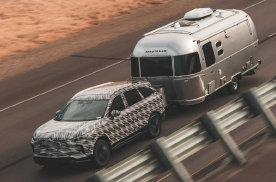 全新英菲尼迪QX60再度预告,主打强大的拖曳实力?