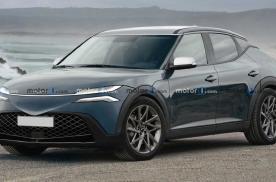 新车 | 现代Genesis纯电SUV GV60渲染图曝光