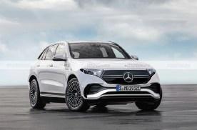有望明年亮相/造型很大气 奔驰EQE SUV渲染图曝光