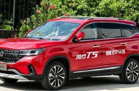 东风风行新T5,6.99万起的售价,带来的不光只有性价比