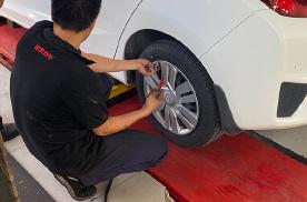 我的胎压监测又被轮胎工弄断了!