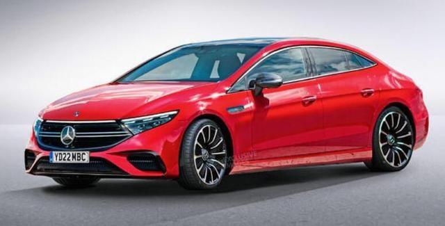 奔驰EQE渲染图曝光 新车有望于2022年正式发布