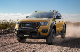 新款福特Ranger Wildtrak X官图来袭