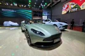 2021上海车展:阿斯顿·马丁DB11特别版正式发布