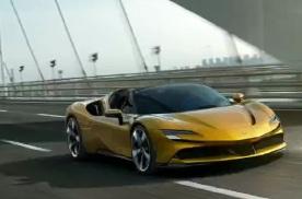 法拉利SF90 Spider将3月27日国内首发2.5秒破百