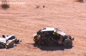 猛禽沙漠翻车 是车不行还是人不行?